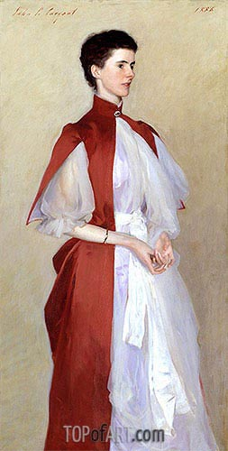 Portrait of Mrs Robert Harrison, 1886 | Sargent | Painting Reproduction