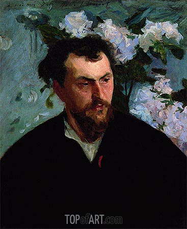 Ernest-Ange Duez, c.1884/86 | Sargent| Painting Reproduction