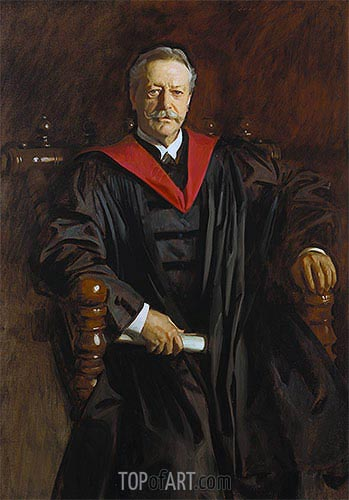 Abbott Lawrence Lowell, c.1923/24 | Sargent | Painting Reproduction