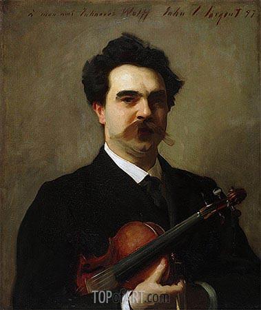 Sargent | Johannes Wolff, 1897