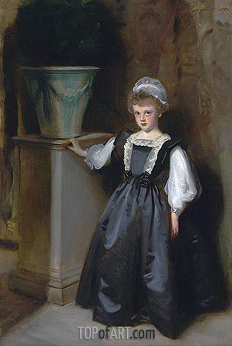 The Honorable Laura Lister, 1896 | Sargent| Painting Reproduction