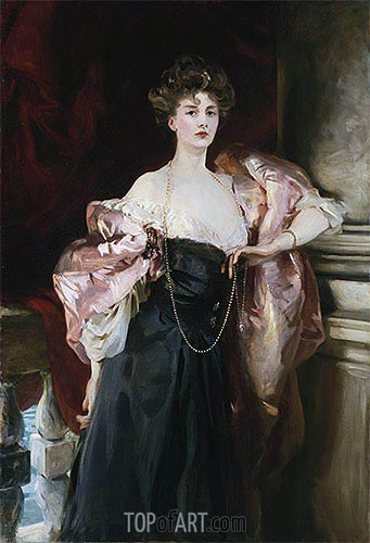 Portrait of Lady Helen Vincent, Viscountess D'Abernon, 1904 | Sargent| Painting Reproduction