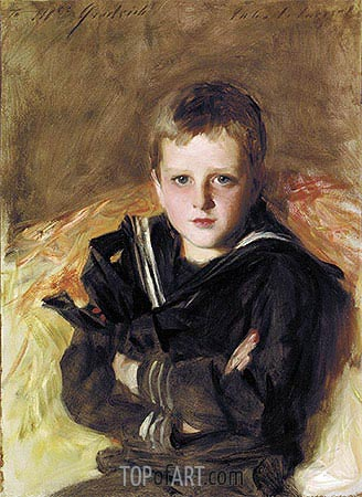 Portrait of Caspar Goodrich, undated | Sargent | Painting Reproduction