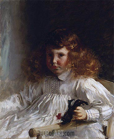 Portrait of Leroy King as a Young Boy, 1888 | Sargent | Painting Reproduction