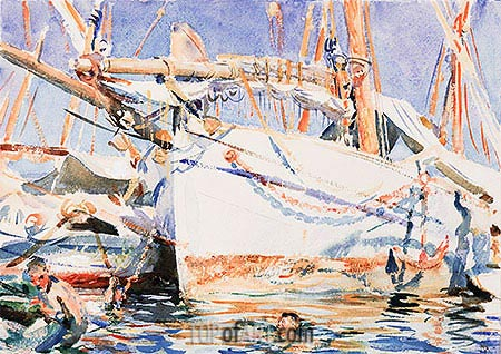 A Falucho, undated | Sargent | Painting Reproduction