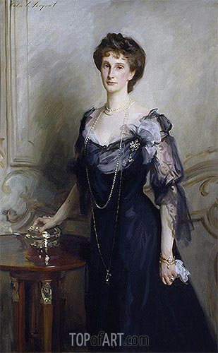 Lady Evelyn Cavendish, undated | Sargent| Gemälde Reproduktion