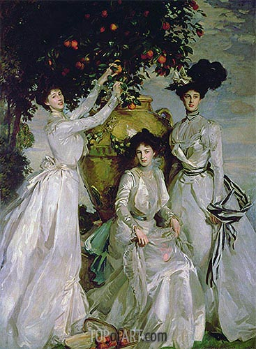 The Acheson Sisters, 1902 | Sargent| Painting Reproduction