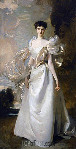 Sargent | Daisy Leiter (Margaret Hyde, 19th Countess of Suffolk), 1898