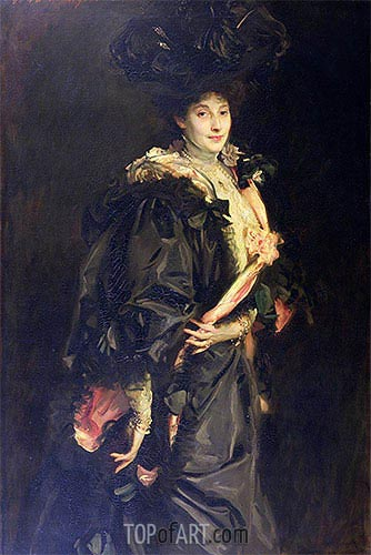 Portrait of Lady Sassoon, 1907 | Sargent | Painting Reproduction