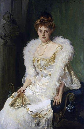 Sargent | Portrait of Mrs. Charles Beatty Alexander (nee Harriet Crocker), 1902