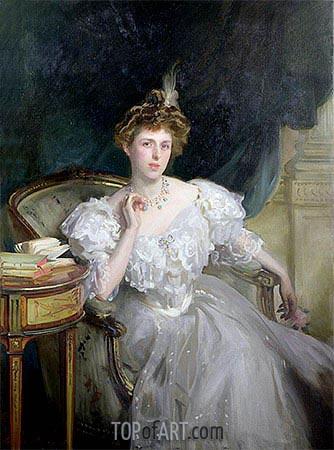 Margherita Goldsmid, later Mrs Raphael, 1906 | Sargent | Gemälde Reproduktion