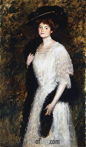 Mrs. George Mosenthal, 1906 | Sargent | Gemälde Reproduktion