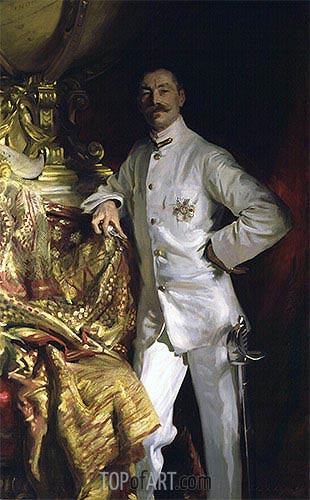 Sir Frank Swettenham, 1904 | Sargent| Painting Reproduction