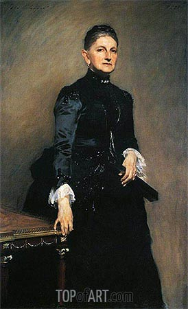Eleanora O'Donnell Iselin (Mrs. Adrian Iselin), 1888 | Sargent | Gemälde Reproduktion