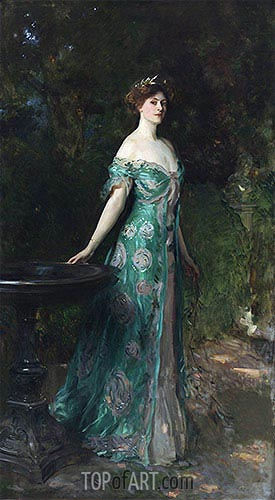 Portrait of Millicent, Duchess of Sutherland, 1904 | Sargent| Gemälde Reproduktion