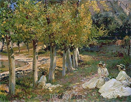 Sargent | Autumn Leaves, 1913