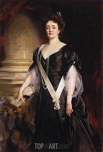 Louise, Duchess of Connaught, 1908 | Sargent | Painting Reproduction
