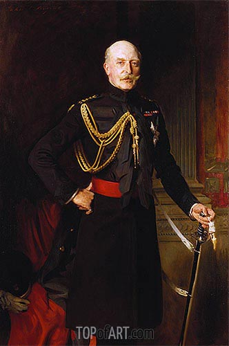 Sargent | Arthur, Duke of Connaught, 1908