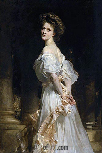 Nancy Astor, 1906 | Sargent | Gemälde Reproduktion