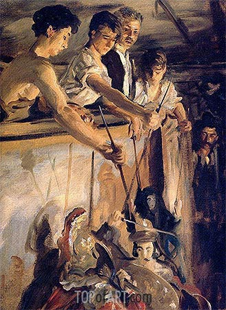 Marionettes, 1903 | Sargent | Painting Reproduction
