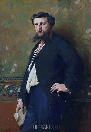 Edouard Pailleron, 1879 | Sargent | Painting Reproduction