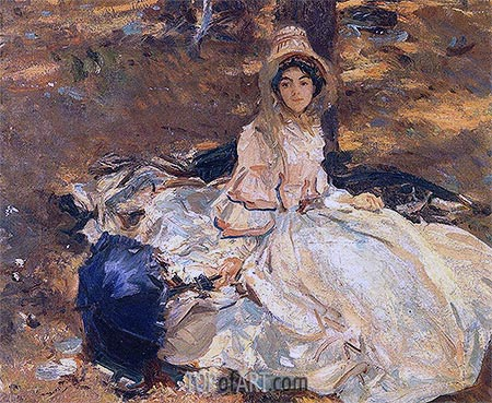 Sargent | The Pink Dress, 1912