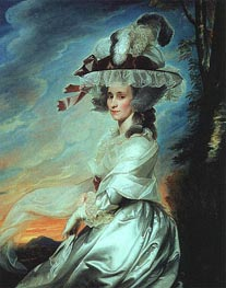 Mrs. Daniel Denison Rogers, 1784 von John Singleton Copley | Gemälde-Reproduktion