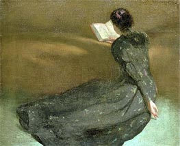 Repose | John White Alexander | Painting Reproduction