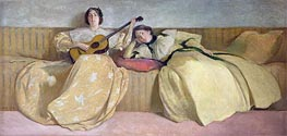 Panel for Music Room | John White Alexander | Painting Reproduction