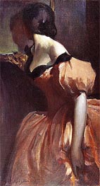 Fancy Dress, c.1894/95 von John White Alexander | Gemälde-Reproduktion