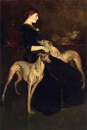 Anna Palmer Draper, 1888 by John White Alexander | Painting Reproduction