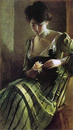 A Rose, c.1900 by John White Alexander | Painting Reproduction