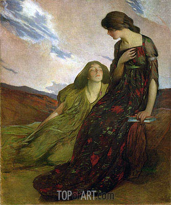Memories, 1903 | John White Alexander | Painting Reproduction