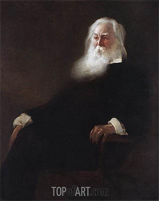 John White Alexander | Walt Whitman, 1889