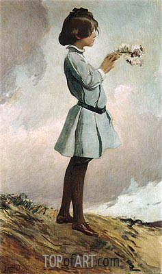 John White Alexander | Geraldine Russell, c.1902/03