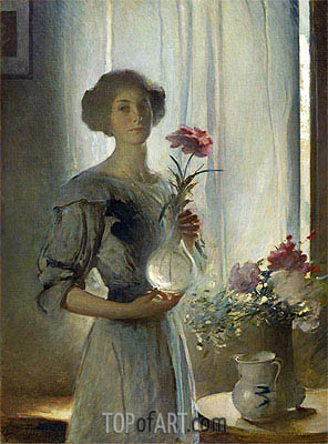 June, c.1911 | John White Alexander | Painting Reproduction