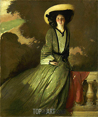John White Alexander | Portrait of Mrs. John White Alexander, 1902