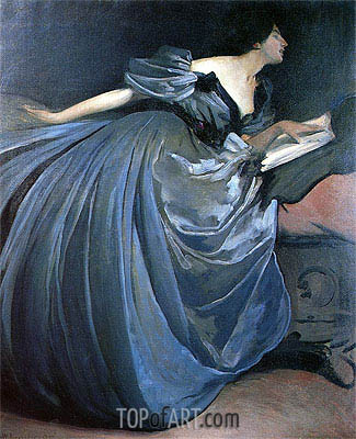 John White Alexander | Althea, 1895