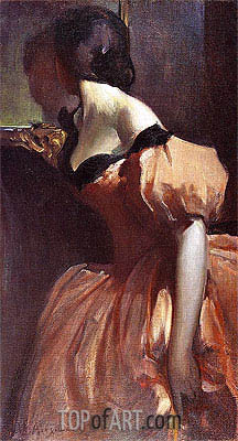 John White Alexander | Fancy Dress, c.1894/95