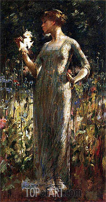 John White Alexander   A King's Daughter, 1889