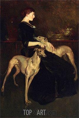 John White Alexander | Anna Palmer Draper, 1888