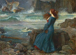 Miranda - The Tempest | Waterhouse | veraltet
