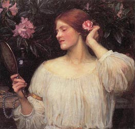 Vanity | Waterhouse | Gemälde Reproduktion