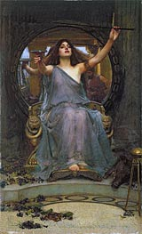 Circe Offering the Cup to Ulysses, 1891 von Waterhouse | Gemälde-Reproduktion