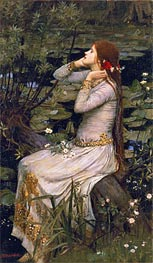 Ophelia, 1894 by Waterhouse | Painting Reproduction