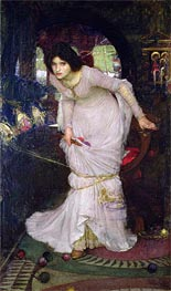 The Lady of Shalott | Waterhouse | Gemälde Reproduktion