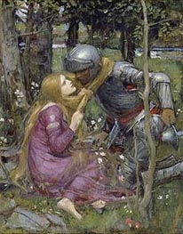 La Belle Dame Sans Merci, c.1892/93 by Waterhouse | Painting Reproduction