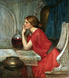 Circe, Undated by Waterhouse | Painting Reproduction