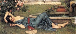Sweet Summer, 1912 by Waterhouse | Painting Reproduction