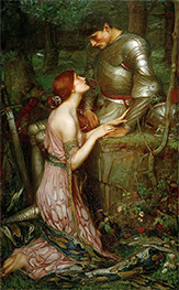 Lamia, 1905 by Waterhouse | Painting Reproduction